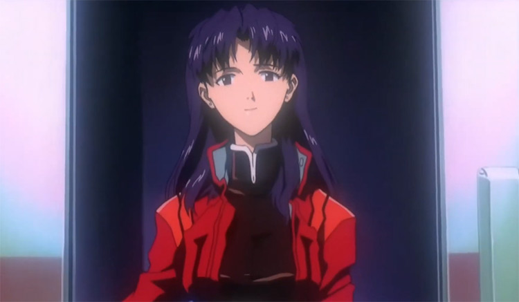 Misato Katsuragi in Evangelion anime