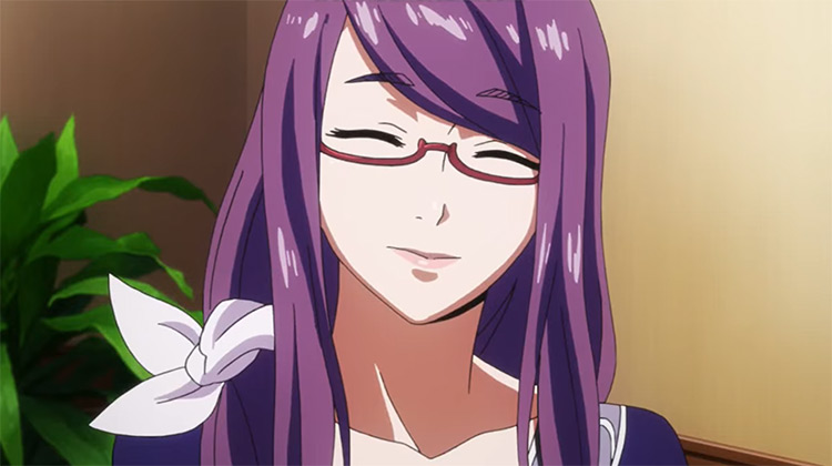 Kamishiro Rize anime girl with eyeglasses