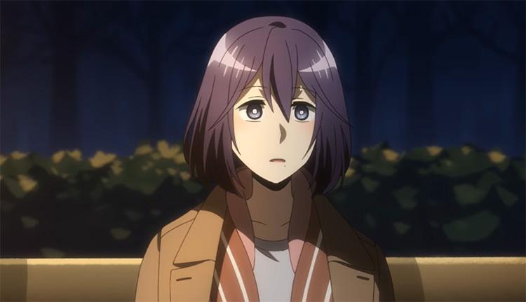 Moriko Morioka in Netoju (Recovery of an MMO Junkie) anime