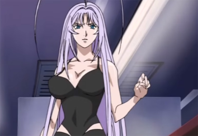 Maya Natsume in Tenjou Tenge anime