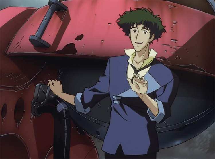 Spike Spiegel - Cowboy Bebop Anime Screenshot