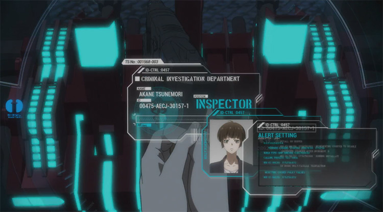 Psycho-Pass Anime screenshot