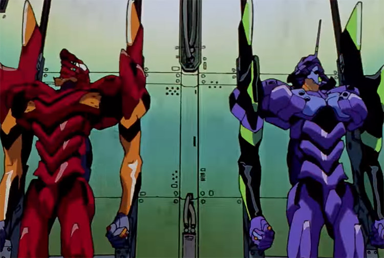 Neon Genesis Evangelion Anime screenshot