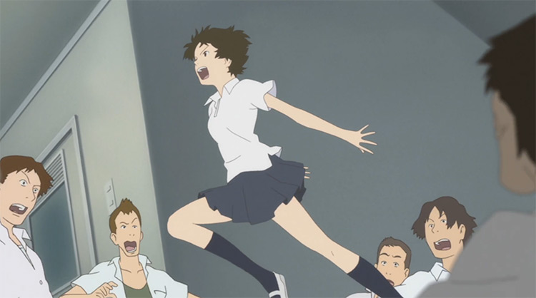 The Girl Who Leapt Through Time Anime screenshot