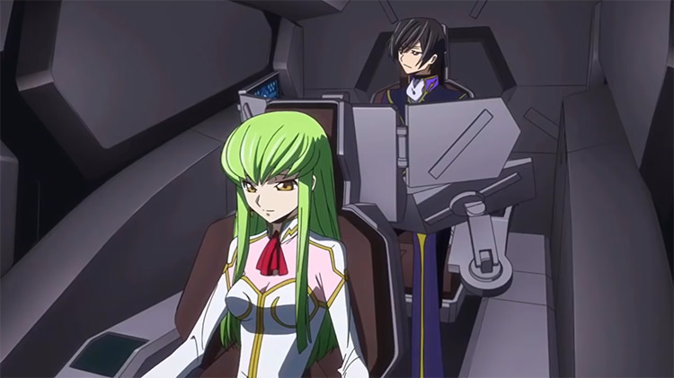 Lelouch and CC - Code Geass Anime Screenshot