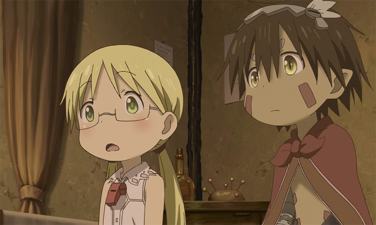 Anime boy and girl - Made in Abyss Anime