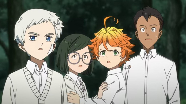 Kids - The Promised Neverland Anime
