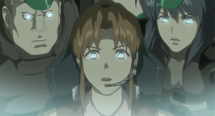 Anime characters - GitS Stand Alone Complex