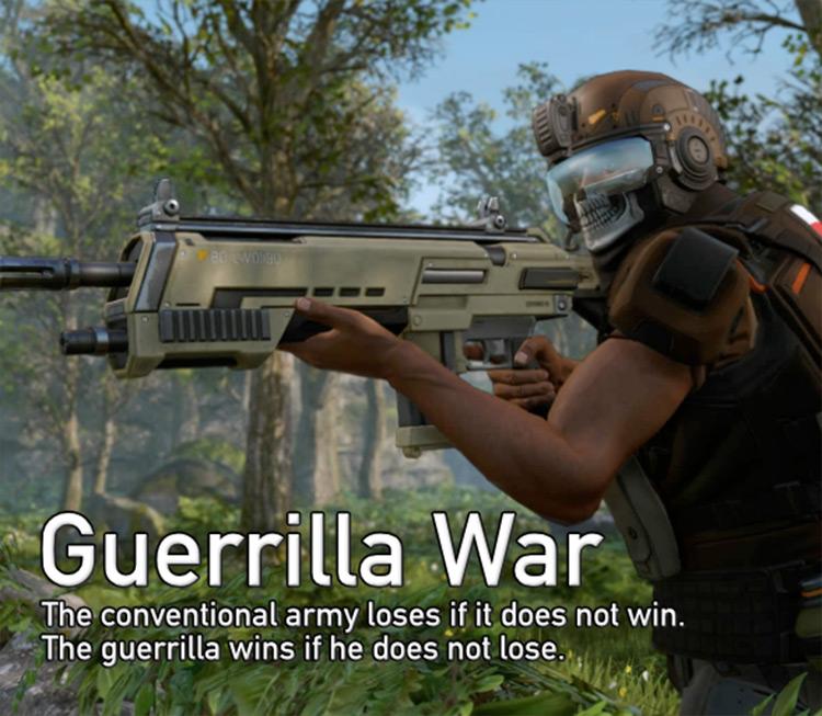 Guerrilla War XCOM 2 mod screenshot