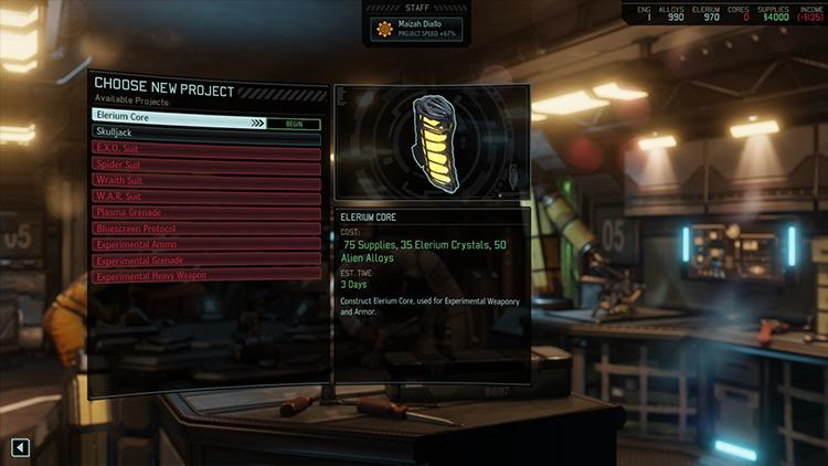 Elerium Grounds mod for XCOM 2