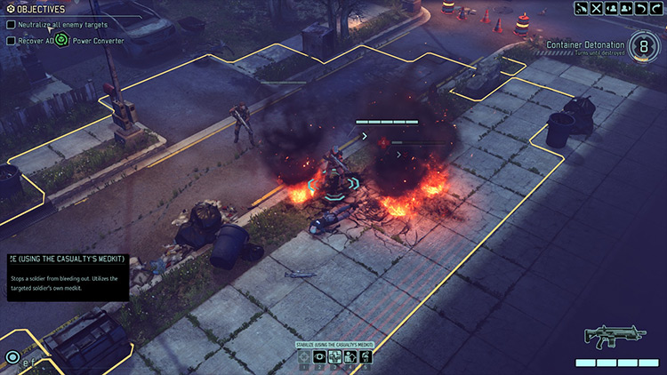 Stabilize Me! XCOM 2 mod