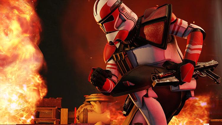 Star Wars Galactic Republic Armory XCOM 2 mod
