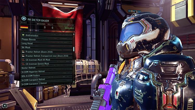 CX Praetor Armor XCOM 2 mod screenshot