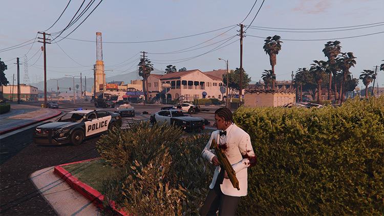 Crime and Police Rebalance & Enhancement GTA 5 mod
