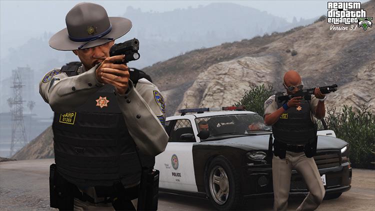 Realism Dispatch Enhancement mod for GTA 5