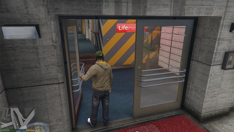 Open All Interiors GTA 5 Realism mod