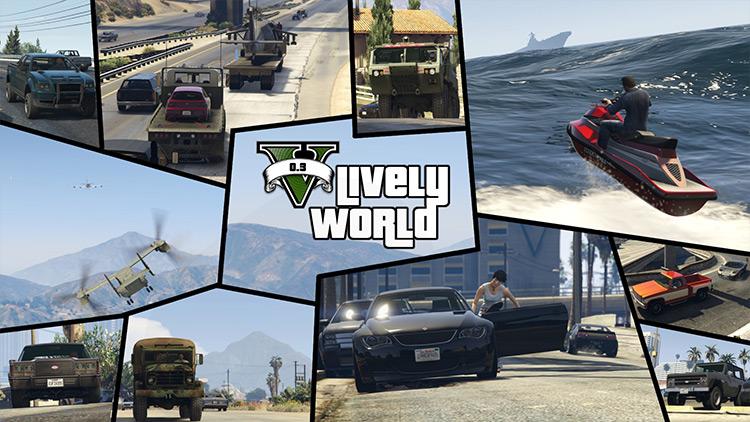 Lively World – Traffic Stuff Update GTA 5 mod