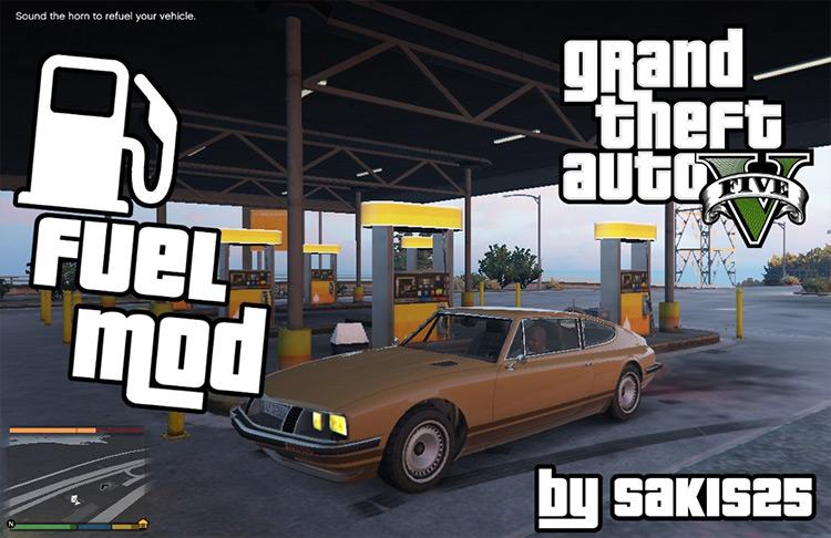 Fuel Script V mod for GTA 5