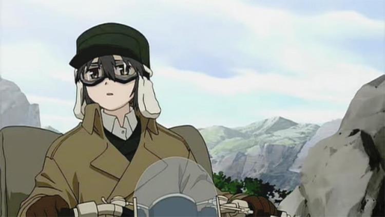 Kino from Kino's Journey anime