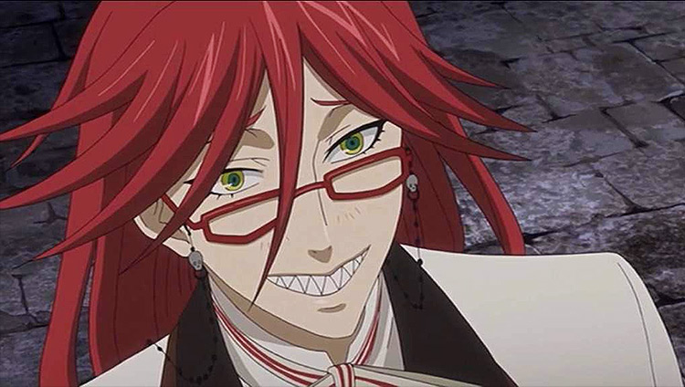 Grell Sutcliff from Black Butler anime