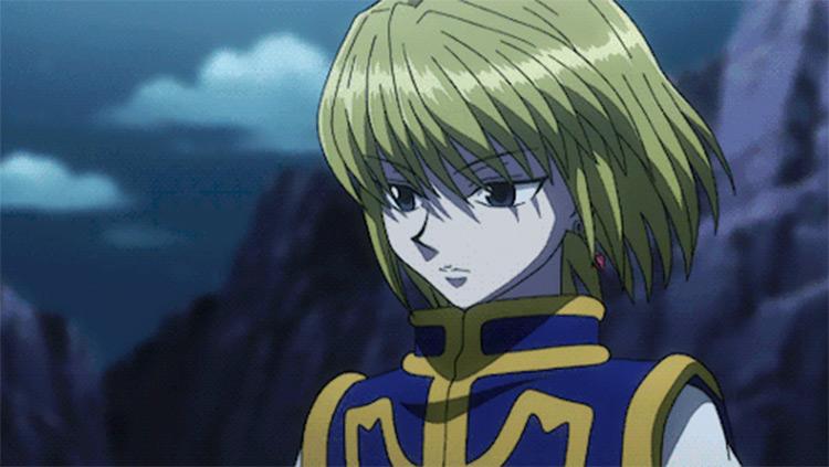 Kurapika Hunter x Hunter anime screenshot