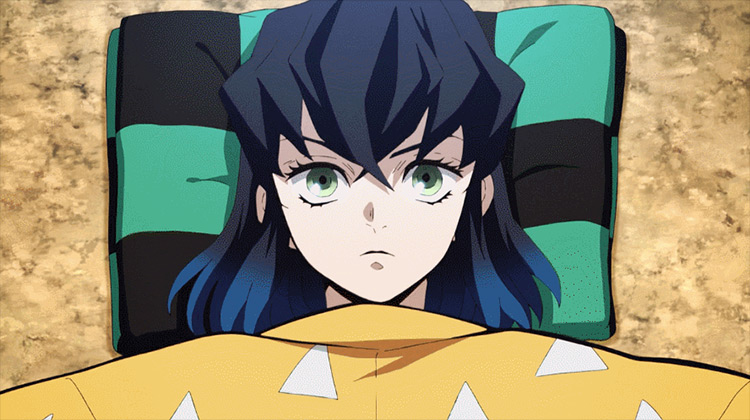 Inosuke Hashibira from Demon Slayer anime