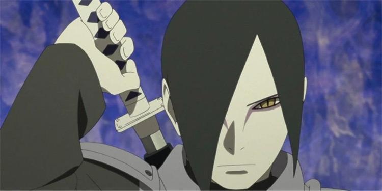 Orochimaru Boruto anime screenshot