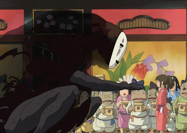 Spirited Away anime screenshot