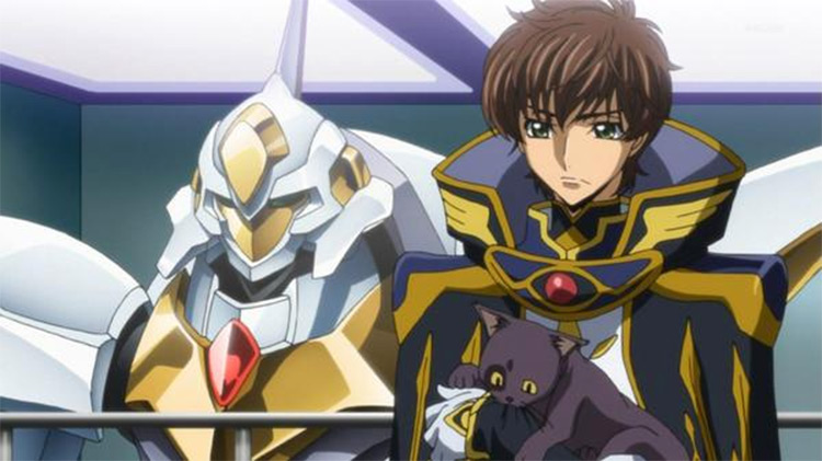 Code Geass anime screenshot