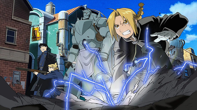 Fullmetal Alchemist: Brotherhood anime