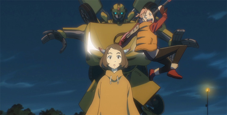 FLCL anime screenshot