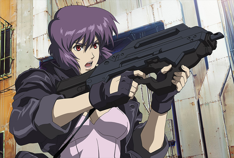 Ghost in the Shell: Stand Alone Complex anime