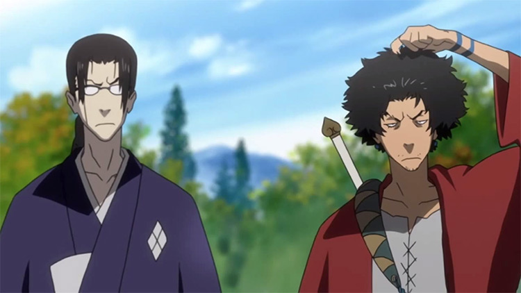 Samurai Champloo anime screenshot