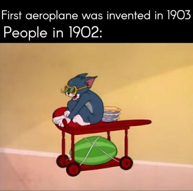People in 1902 Tom meme