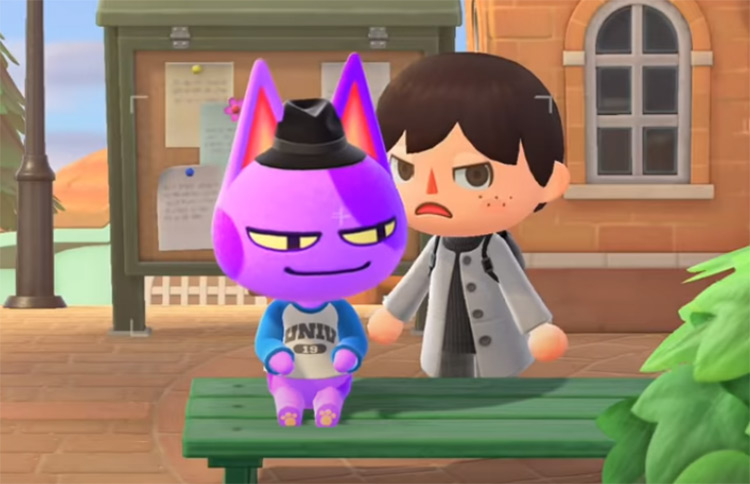Animal Crossing 20 Best Cat Villagers From All Games Fandomspot