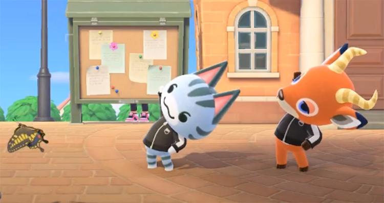 Lolly in Animal Crossing Screenshot