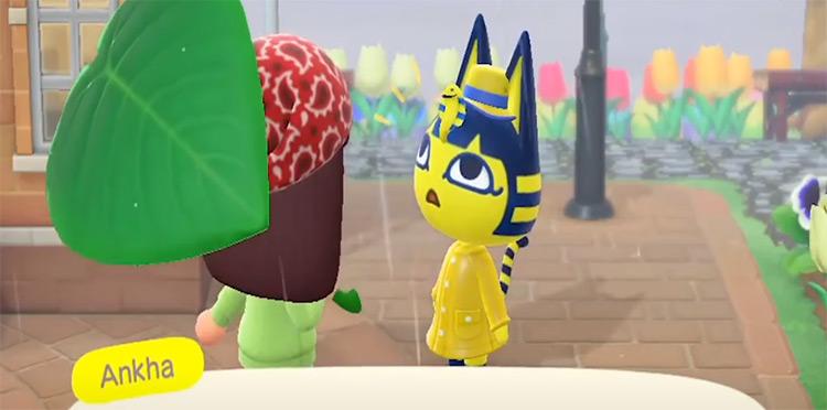 Ankha in Animal Crossing New Horizons