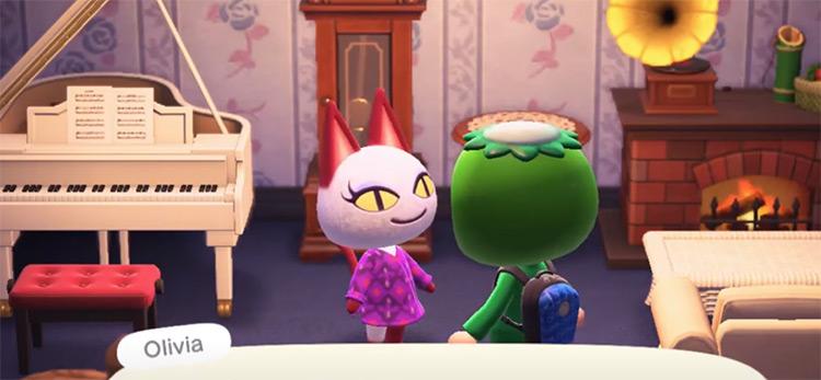 Olivia in Animal Crossing New Horizons