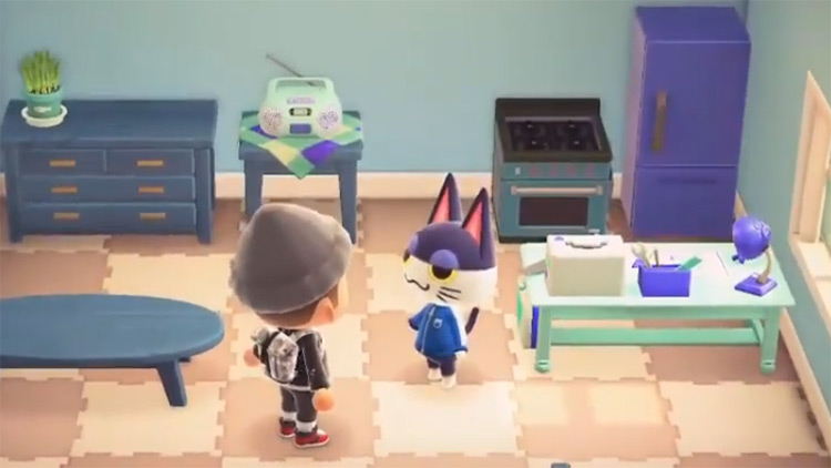Punchy in Animal Crossing ACNH