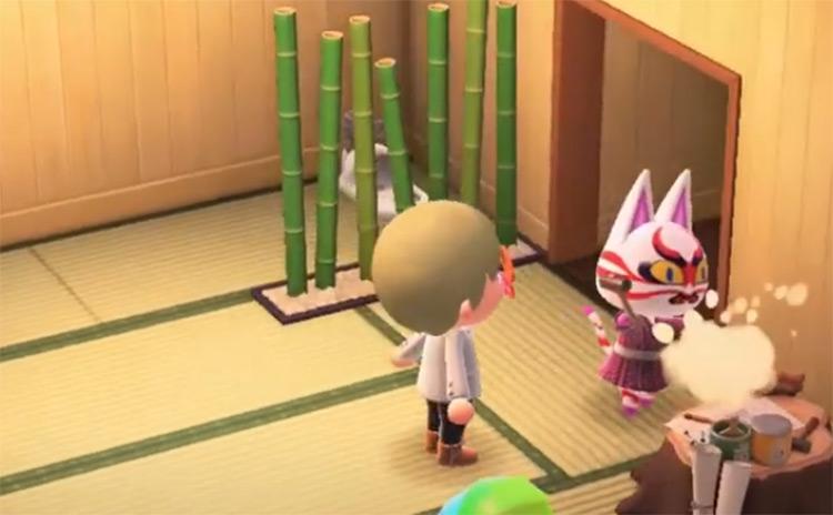 Kabuki in Animal Crossing ACNH