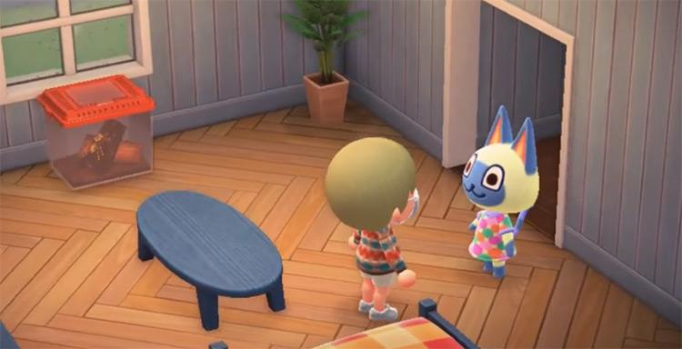 Mitzi in Animal Crossing ACNH