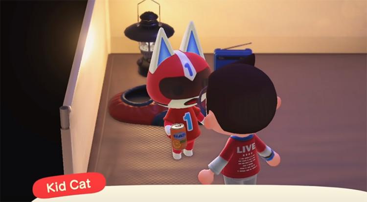 KidCat in Animal Crossing New Horizons