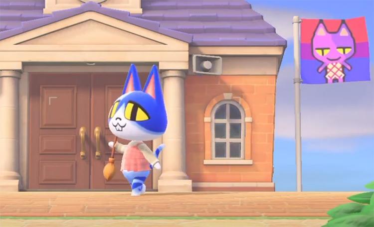 Moe in Animal Crossing New Horizons