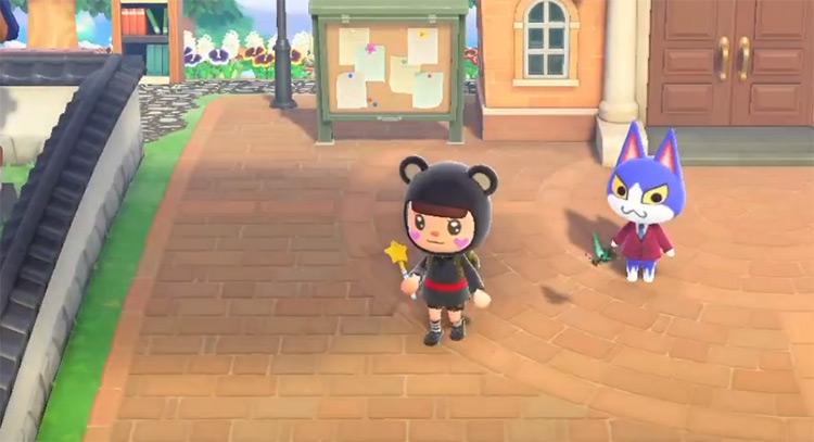Tom in Animal Crossing New Horizons