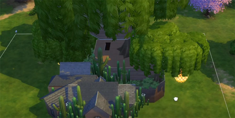 Finn And Jake's Treehouse Mod for Sims 4
