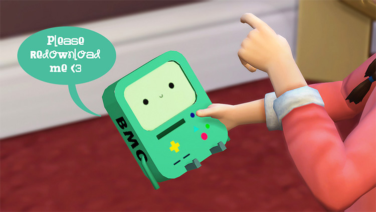 BMO Toy for The Sims 4