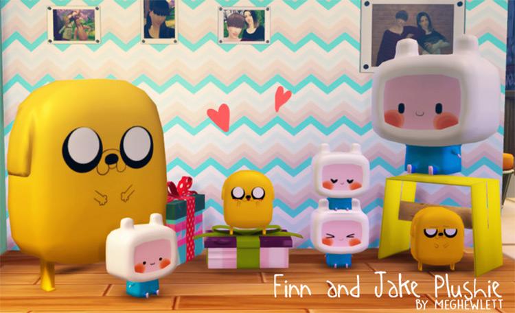Finn And Jake Plushies CC