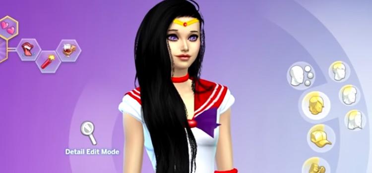Sailor Mars TS4 CreateASim preview