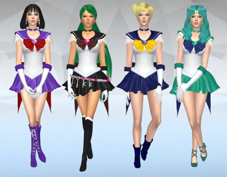 Sailor Moon classic outfit pack v2