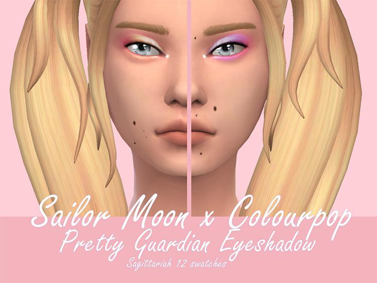 Sailor Moon X Colourpop Eyeshadow Makup Mod